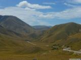 Top van de Lindis Pass