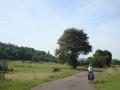 Yvette onderweg naar Poligny