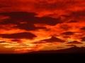 Zonsondergang op camping Soleil bleu
