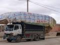 Typisch laadvermogen van een vrachtauto