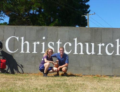 Christchurch – de eindstreep met 3000 km op de teller