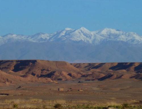 Van woestijn tot sneeuwval